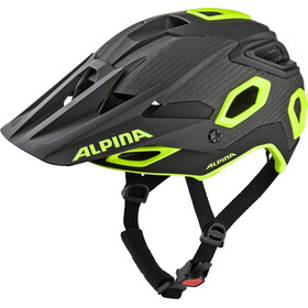 Alpina Rootge Casco, black-neon-yellow